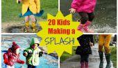 Puddle Jumpers: 20 enfants de faire des vagues dans la vie (PHOTOS)