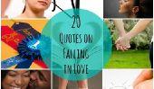 20 Citations sur Falling in Love