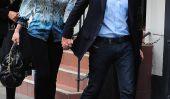 Elizabeth Hurley et Shane Warne Spotted tenir par la main à Londres (Photos)