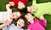 Activités de la maternelle - groupe divertissant Jeux de plein air