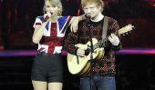 Taylor Swift et Ed Sheeran révèlent leurs plus mignon des textes de BFF