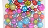Décorer un fou, coloré arbre de Noël