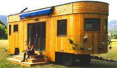 Charme Wohnwagon mobile Caravan
