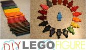 Toddler Approuvé: bricolage Lego Figure Crayons