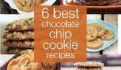 Le 6 Meilleur Chocolate Chip Cookie Recettes JAMAIS