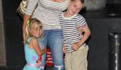 Alison Sweeney vu quittant restaurant avec ses enfants (Photos)