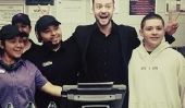 Justin Timberlake est allé à de Choice Awards du Peuple dans le restaurant de fast-food