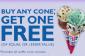 Achetez-en un, en obtenir un gratuitement Ice Cream au Baskin-Robbins!
