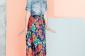 10 Jupes Floral + Robes