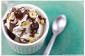 Nutella Ice Cream Sundae avec noisettes grillées