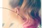 3 Rose Pastel cheveux bricolage de