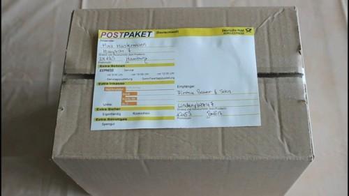 Expéditeurs et les destinataires pour emballer correctement placer - Instructions