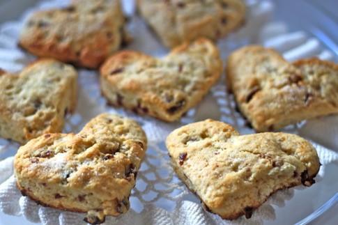 Scone Scone Doux: Facile Valentines Day Breakfast Treat
