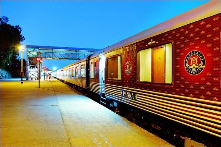 Maharajas 'Express: Le train le plus cher en Inde