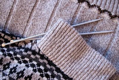 Tricoter des pulls pour l'hiver lui-même
