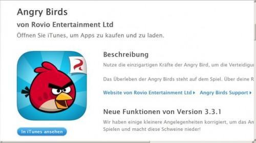 Angry Birds: obtenir un ressort - comment cela fonctionne: