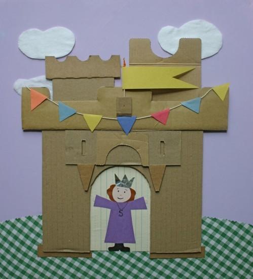 Inspirer bricolage carton Châteaux