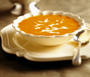 Patate douce Carrot Bisque