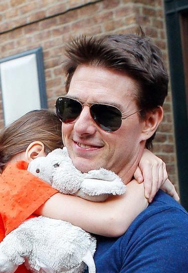5 choses que nous pouvons apprendre de les photos de Tom Cruise avec sa fille Suri