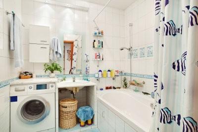 carreaux de salle de bain coupés correctement - il vous faut payer