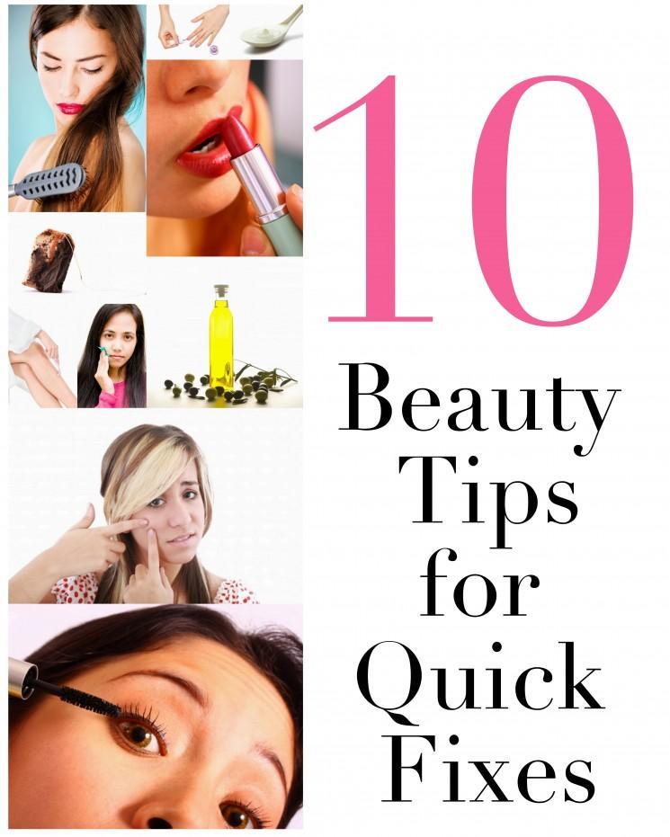 10 Quick-Fix Conseils beauté pour rendre votre vie plus facile