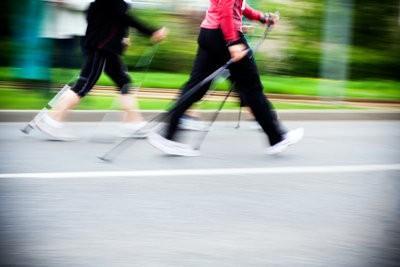 Nordic Walking vélo elliptique - si vous vous entraînez correctement