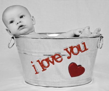 Valentine Photos des bébés mignons!