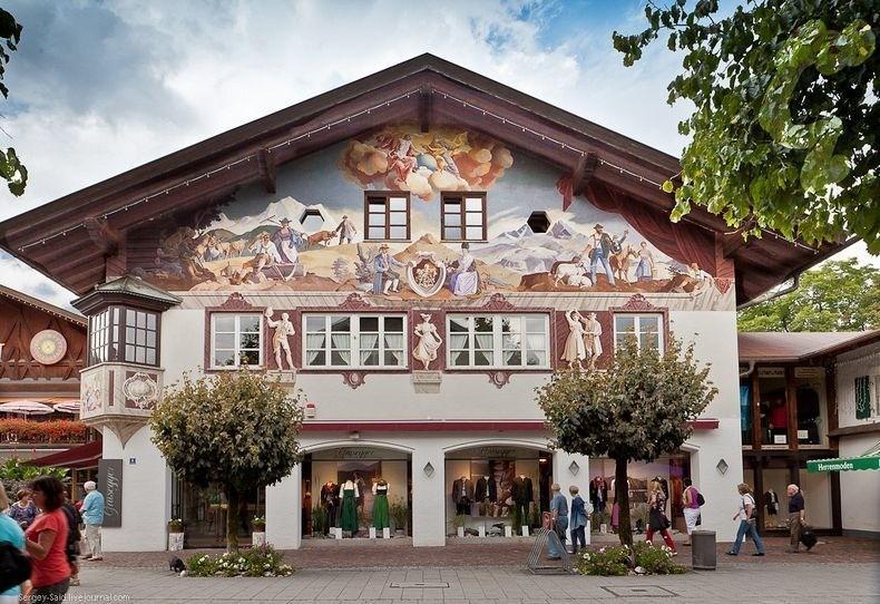 La belle ville des alpes de garmisch partenkirchen for Designhotel garmisch