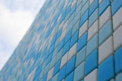 Assurez vitraux dans le style Bauhaus - afin de gérer votre propre œuvre d'art