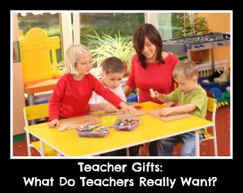 Cadeaux pour les enseignants: Que font les enseignants veulent vraiment?