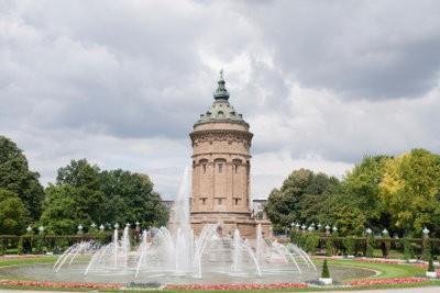 Dans Mannheim visiter les sites touristiques - ces bâtiments devraient regarder