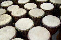 Construire tambour à partir d'un pot de fleurs - des conseils et des idées pour l'artisanat avec les enfants