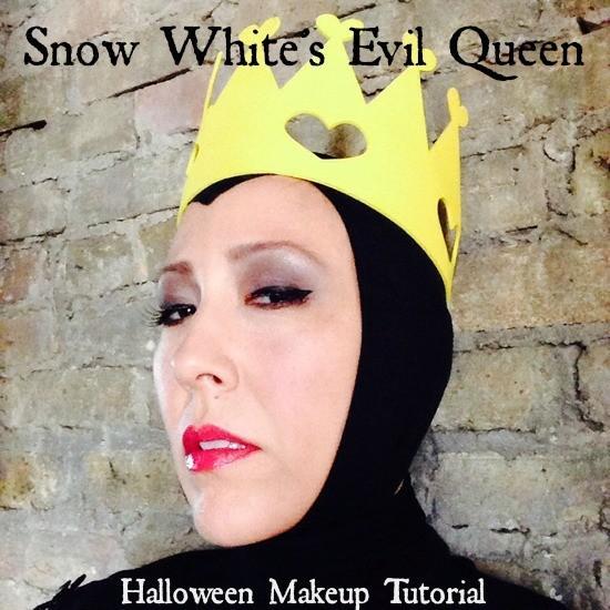 Blanche neige mal maquillage tutoriel reine halloween - Blanche neige halloween ...