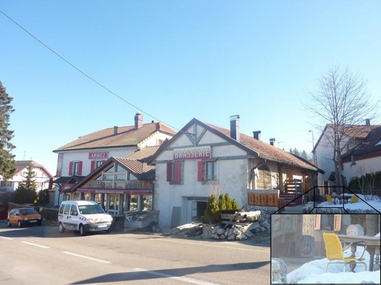 Hôtel Arbez Franco-Suisse, Demi Situé en Suisse et demi en France