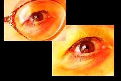 Eyeliner - devraient observer les porteurs de lunettes