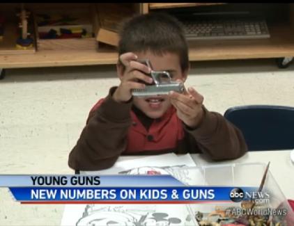 Les enfants et les armes à feu: cette expérience de caméra cachée est Shocking