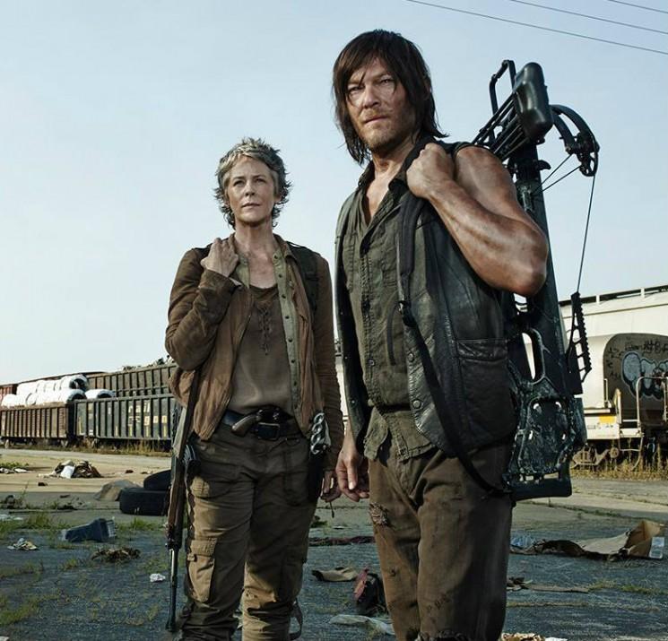 """AMC """"The Walking Dead"""" Saison 5 Date de sortie: Spin-off Annoncé comme Norman Reedus prépare pour une «peur» Daryl Dixon"""