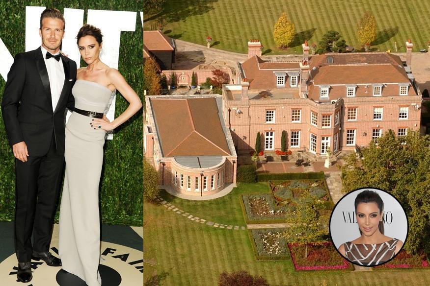 Lorsque les toiles sont la maison palais swank for Maison de la famille kardashian