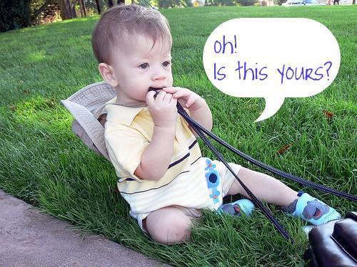 Vous savez que vous avez un enfant en bas âge Si ...