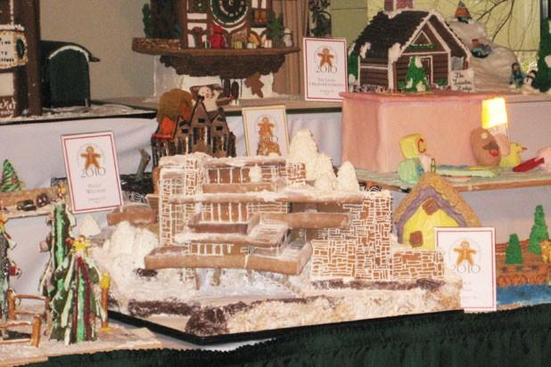 Over-the-top maisons gingerbread