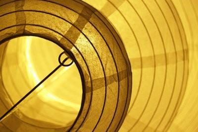 lampe de papier - si vous construisez un abat-jour en papier Chine