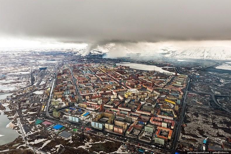 Dans lenfer de Norilsk, lune des villes les plus froides