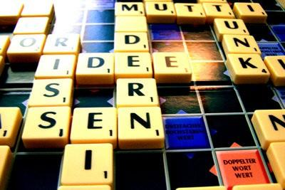 Les mots forment des lettres - Jeux Instructions pour Scrabble