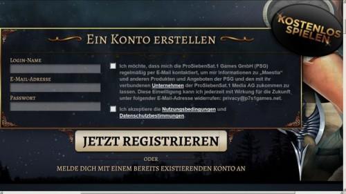Maestia gameplay - façon de jouer le jeu de rôle en ligne