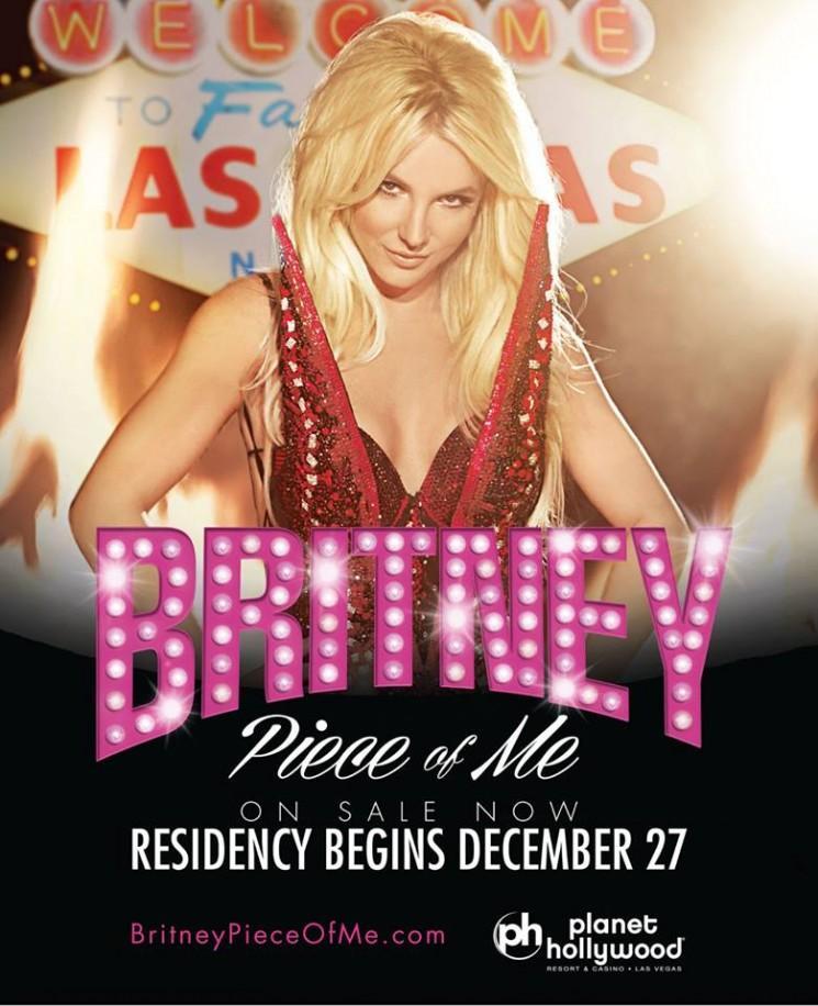 Britney Spears Las Vegas Show: Performance attire Public Jeune à Sin City