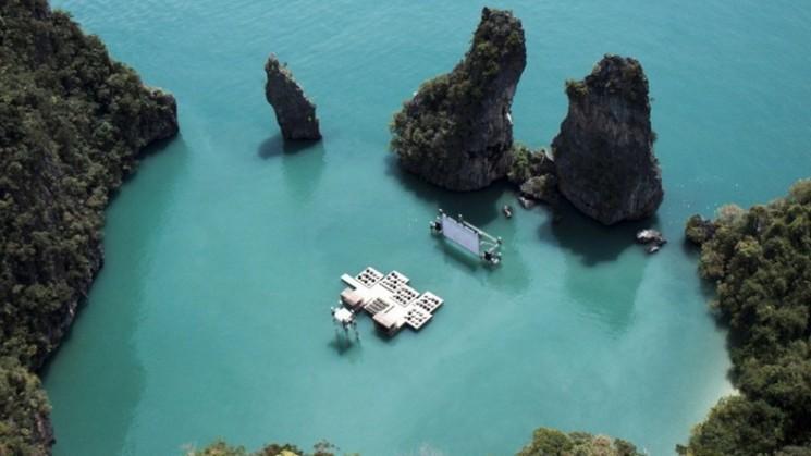 Cinéma flottant de la Thaïlande: Archipel Cinéma