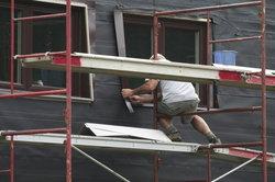 Installation de fenêtre en aluminium de seuil