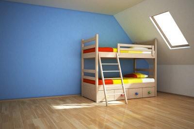 Construire des lits superposés pour les enfants - il en va