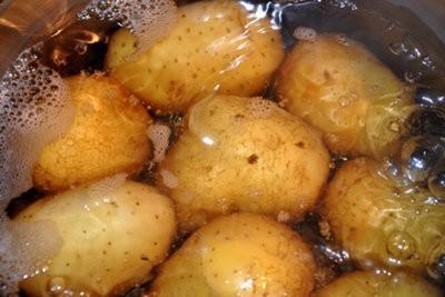 Serviette imprimé avec des enfants - des idées pour l'impression de pommes de terre