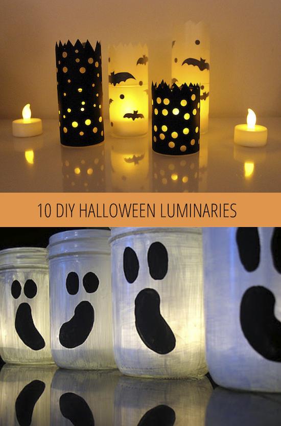 10 Luminaires Halloween bricolage